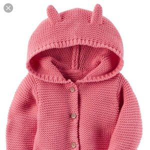Carter's Baby Cardigan with Ears